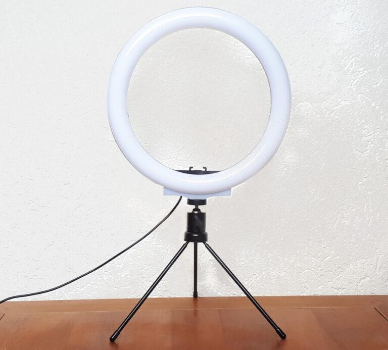 tisch-ringlicht